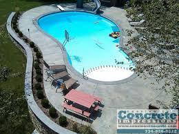 cousino u0027s concrete impressions pool concrete pool decks toledo
