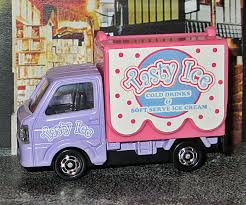 Suzuki Carry Mobile Catering Truck Model Cars Hobbydb