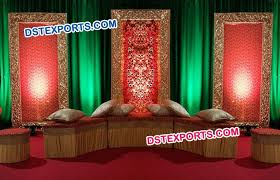 wedding backdrop panels panel frame for mehandi stage decor dstexports