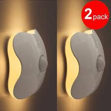 Wireless Sconces Battery Operated Buy Intsun U0026acirc U0026reg 2 Pcs Clover Style Led Closet Light 6 Led