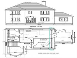 Cad House by Free Autocad House Plans Dwg Tiny House