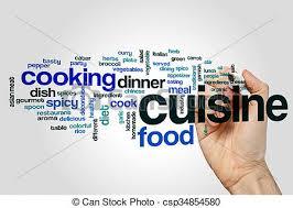 concept cuisine cuisine word cloud concept cuisine word cloud stock illustration