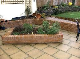making a brick raised garden bed brick raised garden bed without
