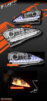 lexus is 250 led lights lexus is250 is350 crystal led drl day time projector head lights
