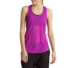 colour purple puma active training women u0027s mesh it up tank top puma apparel