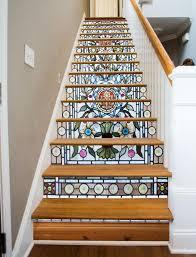 stained glass flowers 16 stairs stained glass flowers glass