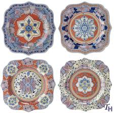 kashmir accent plates by spode