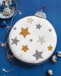 how to make a bauble cake step guide