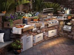 outdoor küche outdoor küche haus bauen ideen mit möbel zubehör einrichten