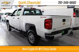 new 2017 chevrolet silverado 2500hd work truck double cab pickup