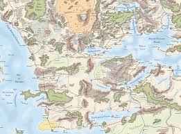 Map Of Faerun A Thayan Timeline Kismet U0027s Dungeons And Dragons