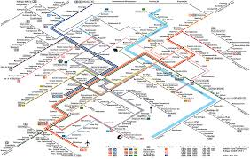 Munich Subway Map by Germany Mapa Metro