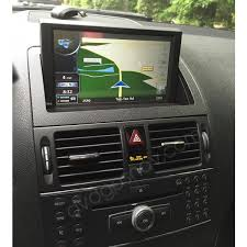 mercedes gps navigation system mercedes w204 navigation dvd gps unit 8 touch screen c