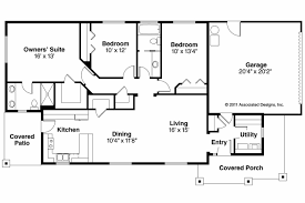 House Floor Plans With Dimensions by Quality Simple Ranch House Plans 2 Simple Ranch House Floor Plans