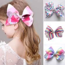ribbon hair clip 1pc new hair clip large bowknot hair bow alligator