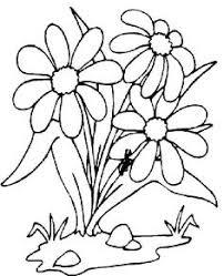 ramos flores colorear imagenes dibujos imprimir bordados