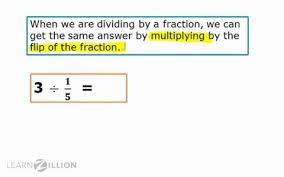 dividing a whole number by a fraction lesson for divide whole numbers by fractions using the