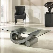 Wohnzimmertisch Quadratisch Glas Couchtisch Aus Holz Moderne Wohnzimmertische Wohnzimmer Tische