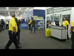 black friday jobs black friday shoppers rush into best buy youtube