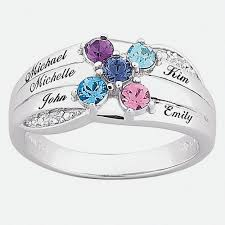 day rings personalized mothers day rings
