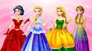 Ariel Clothes For Toddlers Disney Princesses Elsa Anna Rapunzel Snow White Winter Fun Dress