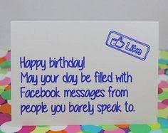 ron swanson birthday card by wywhcards on etsy 1 95 greeting