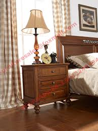 Solid Wood Bedroom Furniture Country Style Solid Wood Bed In Wooden Bedroom Furniture Sets