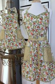 Mother Daughter Christmas Ornaments Elegant Christmas Apron By Myseamingbrain On Etsy Aprons