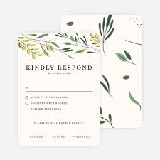 response cards for wedding rustic forest wedding response cards paper culture