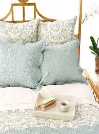 Dusty Blue Duvet Cover Bedroom Elegant Bedroom Design With Pine Cone Hill Veena Grey