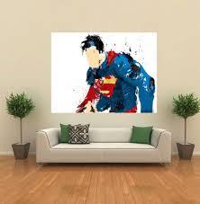 superman marvel dc avengers comic book fanart giant wall poster superman marvel dc avengers comic book fanart giant wall poster art print q031 ebay
