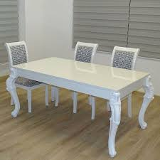 Esszimmer Modern Weiss Links 20801170 Esstisch Küchentisch Esszimmertisch Tisch Weiß