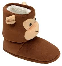 womens boots uk size 2 dunlop womens boys novelty slippers boots monkey tiger