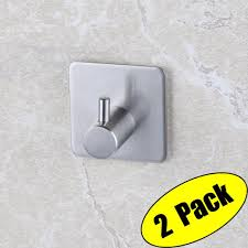 adhesive wall hooks 3m self adhesive hooks sus 304 stainless steel heavy duty small