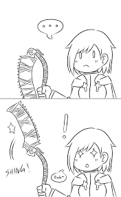 Saw Doll Meme - how everyone saw the saw cleaver for the first time bloodborne
