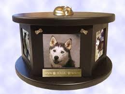 pet urns for dogs decorative engraved rotating photo pet urn dog cat ebay
