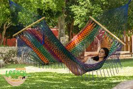 resort mexican hammock with fringe in mexicana mayan legacy