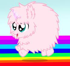 pink fluffy unicorn by mishti14 on deviantart