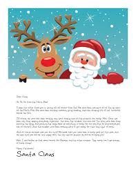 letter to santa template printable black and white easy free letters from santa customize your text and design and