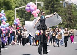 balloon delivery spokane spokane s pride parade celebrates its 25th year with thousands of