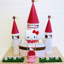 kitty castle diaper cake luv avenue diaper cake
