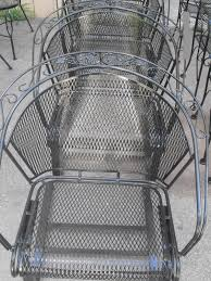 Mesh Wrought Iron Patio Furniture by Casual Refinishing The Midwest U0027s Premier Source For Pool And