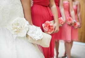 bridesmaids bags coral wedding clutch bridesmaids clutches wedding gifts