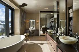 breathtaking cave bathroom contemporary best luxury ski residence in montana vanities bath and future house