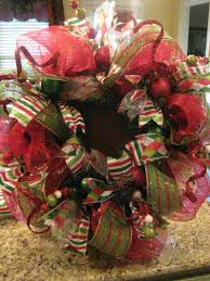kristen u0027s creations christmas mesh wreath tutorial