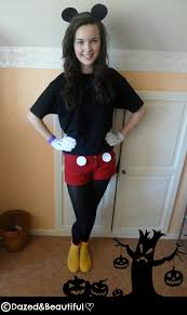 Nanny Halloween Costume Diy Tutorial Diy Halloween Costume Diy Mickey Mouse Costume