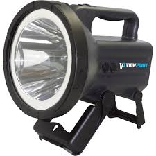 viewpoint rechargeable led spotlight 2000 lumens model 20005
