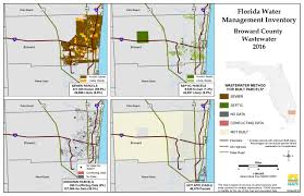 Map Of Broward County Florida by Broward Florida Water Management Inventory Summary Florida