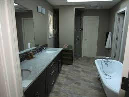 Tile To Go With Kashmir White Granite And Dark Cabinets - Black granite with white cabinets in bathroom