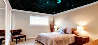 chambre ciel étoilé bricoartdeco réaliser soi même un ciel étoilé au plafond d une